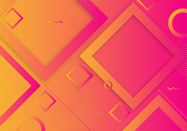 Steigungs-geometrischer form-hintergrund