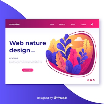Steigungsnatur-webdesign