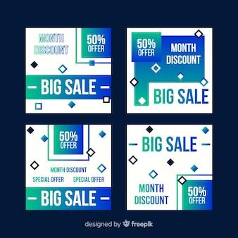 Steigungsverkauf instagram beitragssatz