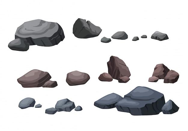 Stein für die schöne gartendekoration.
