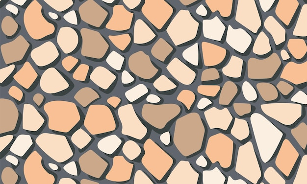 Steine wandmuster