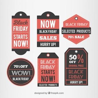 Stellen etiqueta de black friday