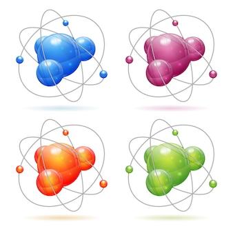 Stellen sie das atommodell ein