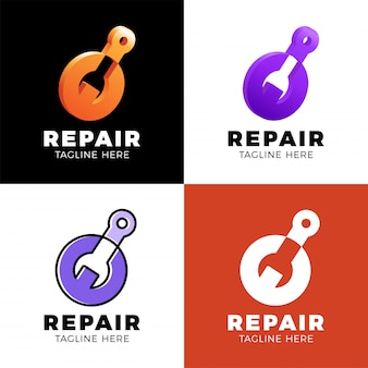Stellen sie die logo-reparatur ein