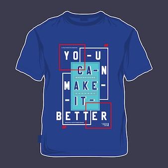 Stellen sie modell t-shirt design vektor