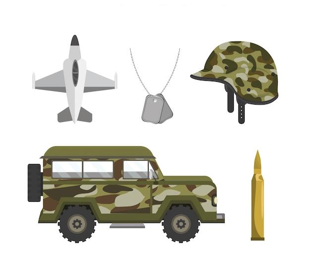 Stellen sie patriotische militararmeen auf