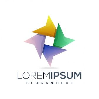 Stern buntes logo