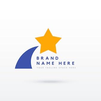 Stern-logo-design für ihre marke