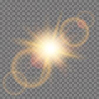 Stern mit funken