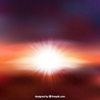 Sterne-burst-hintergrund