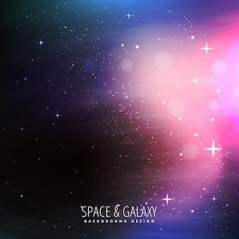 Sterne gefüllt universum hintergrund
