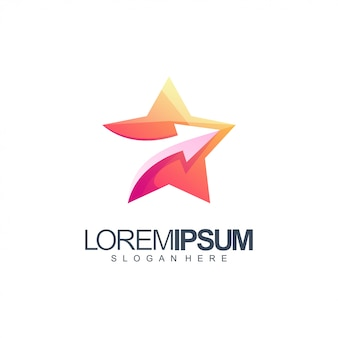 Sterne logo design illustration