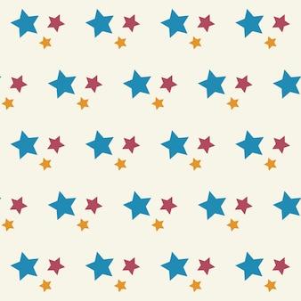 Sterne nahtlose muster