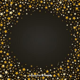 Sternenklarer weihnachtshintergrund