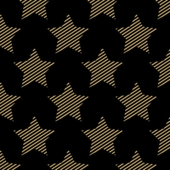 Sternenmuster, abstrakter geometrischer hintergrund. kreative und luxuriöse illustration