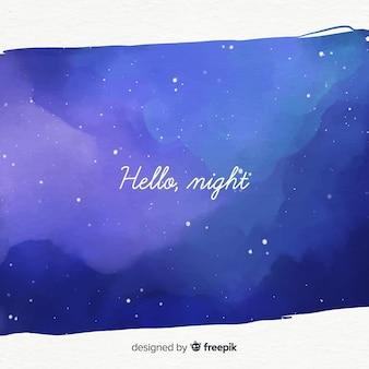 Sternennacht hintergrund