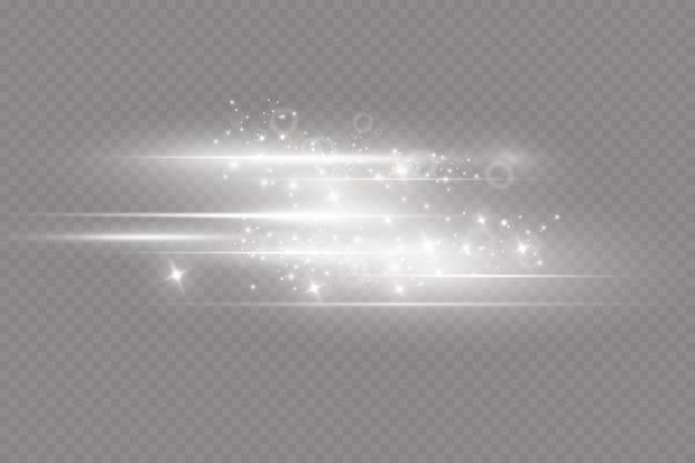 Sternstaub funkelnde partikel