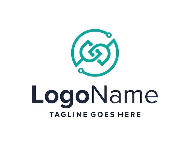 Stethoskop mit initialen buchstabe s umriss für tech einfaches kreatives geometrisches modernes logo-design
