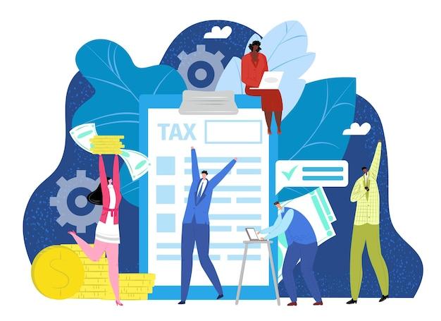Steuerfinanzierungserklärung konzept