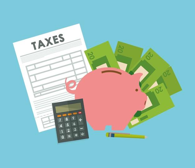 Steuerkonzept mit ikonendesign