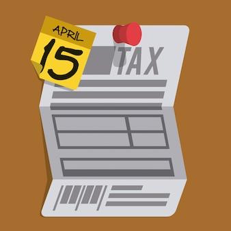 Steuern design, vektor-illustration.