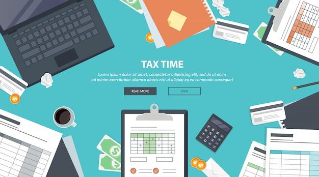 Steuerzahlung