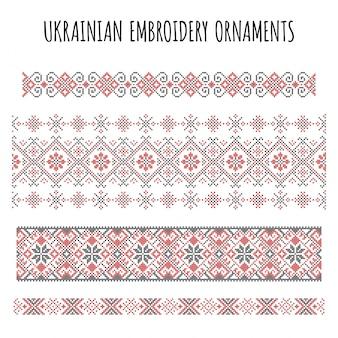 Stickerei ornamente sammlung