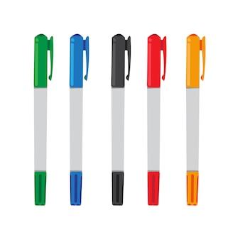 Stift-vektor-sammlung design