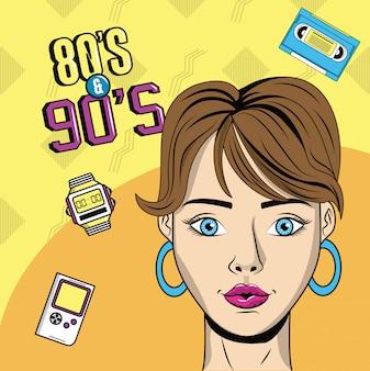Stil der achtziger und neunziger