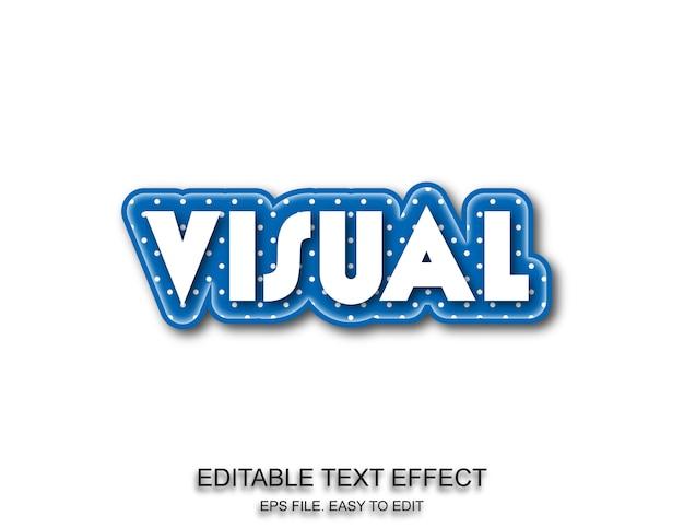 Stil für visuelle schrifteffekte