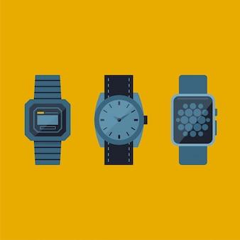 Stile der armbanduhr