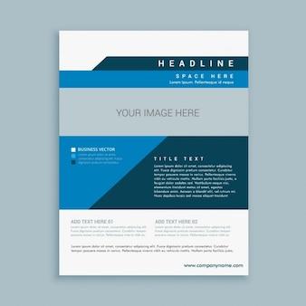 Stilvolle business-broschüre design