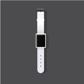 Stilvolle ikonenvektor-vektorillustration der armbanduhr