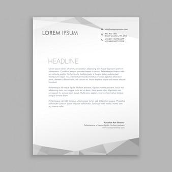 Stilvolle, moderne design briefpapier