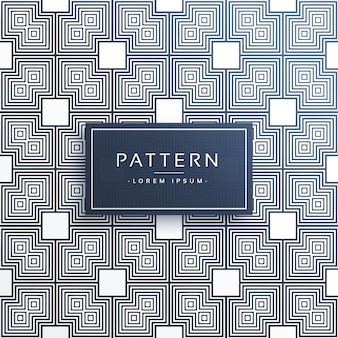 Stilvollen quadratischen geometrischen Muster Hintergrund
