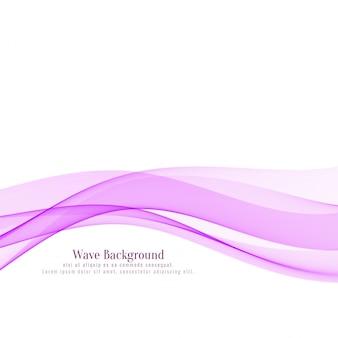 Stilvoller hintergrund der abstrakten rosa welle