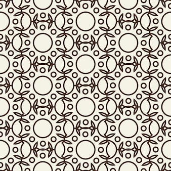 Stilvolles abstraktes nahtloses schwarzweiss-muster