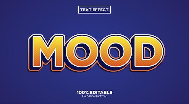 Stimmungstext-effekt