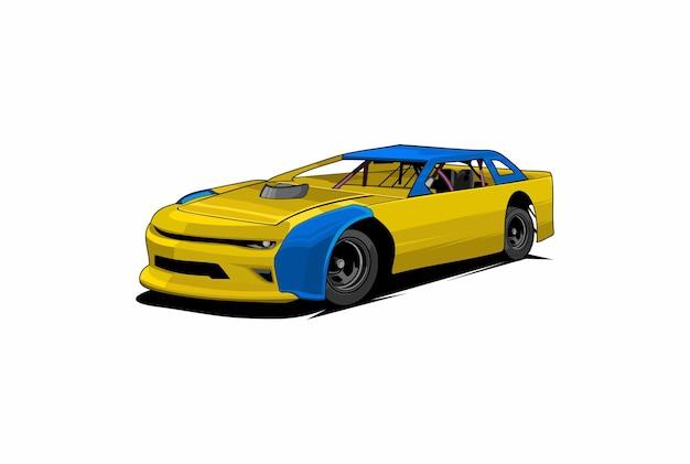 Stock-car-rennen abbildung