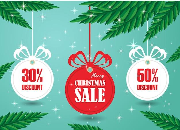 Stock vektorgrafik weihnachtsverkauf rabatt papier tags vektor mit verschiedenen formen mit schneeflocke festgelegt.