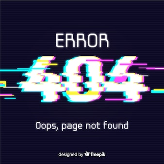 Störungsfehler 404 hintergrund