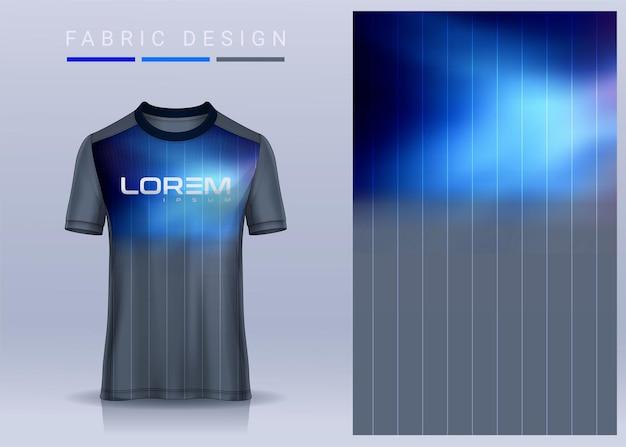 Stoff textil für sport t-shirt fußball trikot uniform vorderansicht