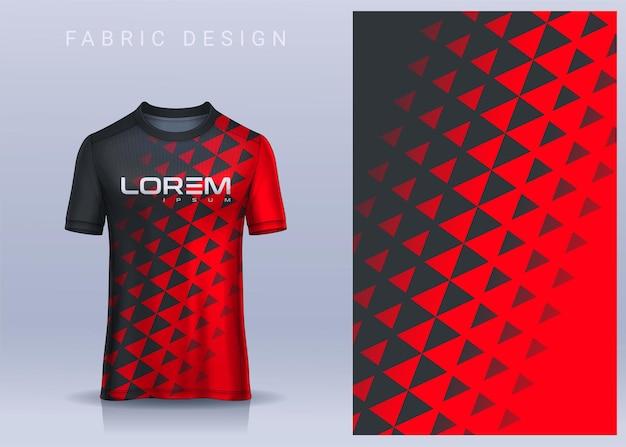 Stoff textil für sport t-shirt fußballtrikot. fußball club uniform vorderansicht