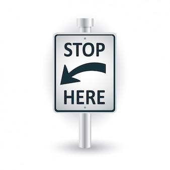 Stopp-signal-design