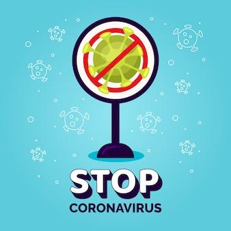 Stoppen sie das coronavirus