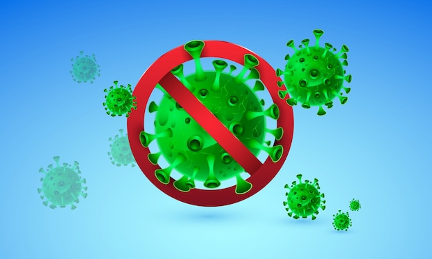 Stoppen sie die coronavirus-covid-19-pandemie