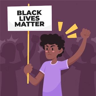 Stoppen sie rassismus und missbräuchliches verhalten