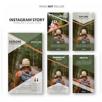 Story explore-vorlage