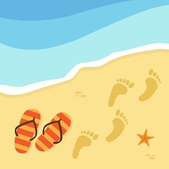 Strand hintergrund-design