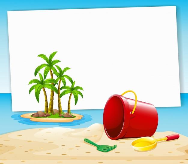 Strand und zeichen